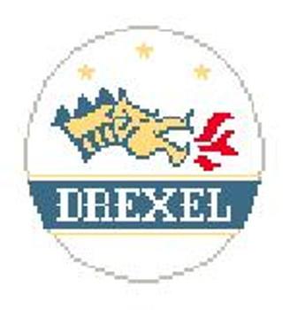 BT348 Drexel Dragons Kathy Schenkel Designs 4 dia