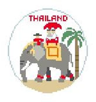 """BT639 Thailand   4"""" diameter Kathy Schenkel Designs"""