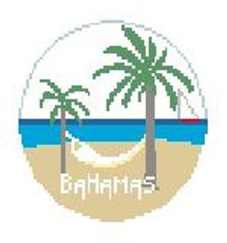 "BT628 Bahamas  4"" diameter Kathy Schenkel Designs"