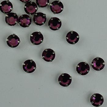 #Rh-014 Violet Rhinestone Sundance Designs