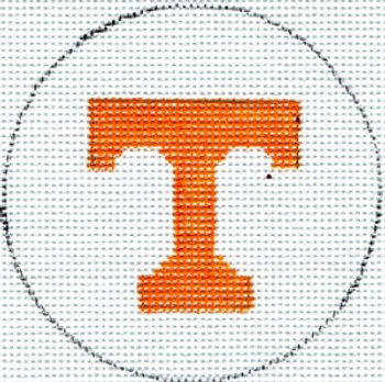 University of Tennessee Leather Canvas Embroidered Ribbon Belt pick size