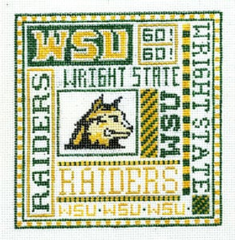 T-40ws Wright State 4 1/2 x5 18 Mesh The Meredith Collection