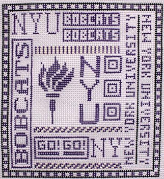 T-40ny New York University 4 1/2 x 5 18 Mesh The Meredith Collection
