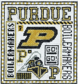 T-40pu Purdue 4 1/2x5 18 Mesh The Meredith Collection