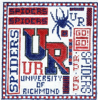 T-40r University of Richmond 4 1/2x5 18 Mesh The Meredith Collection