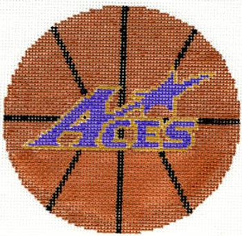 XO-150e Basketball-University of Evansville 4x4 18 Mesh The Meredith Collection