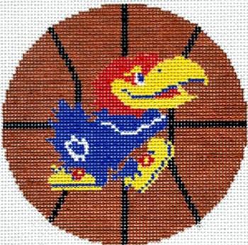 XO-150ka Basketball-University of Kansas 4x4 18 Mesh The Meredith Collection