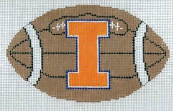 XO-151iL Football- University of Illinois 18 Mesh The Meredith Collection