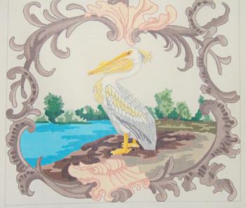 D-434 American White Pelican20x2013 Mesh DECORATIONS