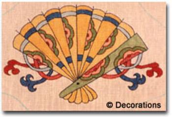 D-75 Fan #48x8½  18 Mesh DECORATIONS