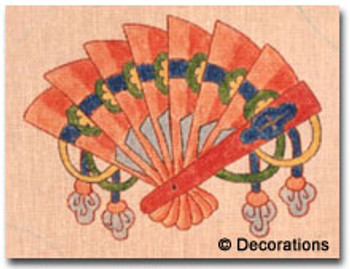 D-74 Fan #3 8x8½  18 Mesh DECORATIONS