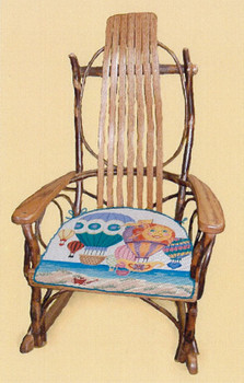 RC000  Child's Rocking Chair  Canvas Not Included Trubey Designs
