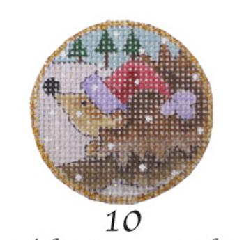 """N-190/10 The Porcupine 4.5"""" Diameter 13 Mesh Renaissance Designs"""