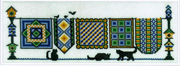 Quilts And Kittens by Ursula Michael Design 03-1840  UMD-227