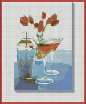 Tulips & Martinis (Glover XS) by Paula's Patterns 15-1397