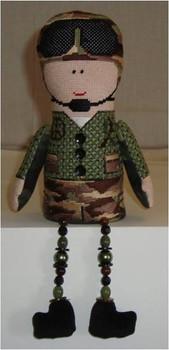 3D Army Boy Mesh Sew Much Fun