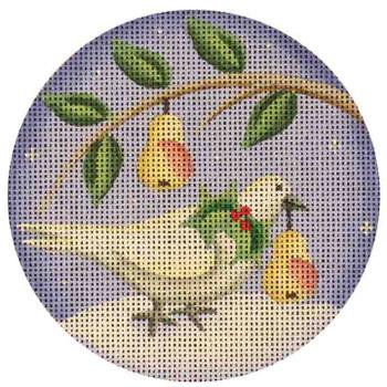 """20b Turtle dove 4"""" 18 Mesh Rebecca Wood Designs"""