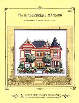 Gingerbread Mansion by Nancy Spruance Designs 2895