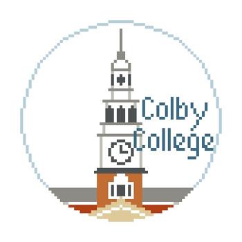 BT722 Colby College Kathy Schenkel Designs