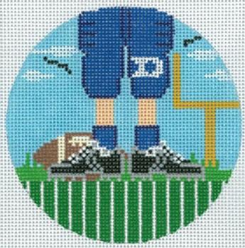 "XO-174t Football Feet Duke 5"" Round 13 Mesh The Meredith Collection"