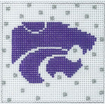 XO-159 College Square kansas state 4 x 4 13 Mesh The Meredith Collection
