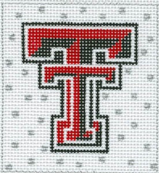 XO-159 College Square texas tech 4 x 4 13 Mesh The Meredith Collection