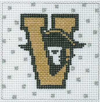 XO-159 College Square Vandy 4 x 4 13 Mesh The Meredith Collection