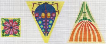 """ZE586 Zecca Bug Scissor Case 18 Mesh 4"""" x 4.5"""""""