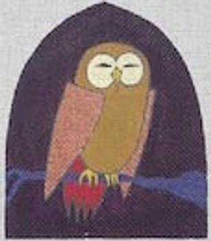 ZE141 Zecca Copper Winged Owl egg cozyy Mesh