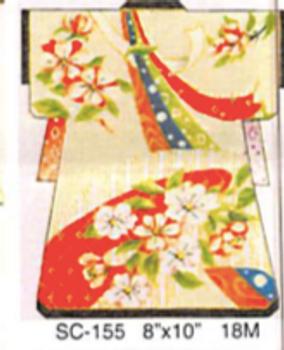 SC-155 Sophia Designs Sound Of Spring Kimono