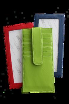 PLANET EARTH Green SELF FINISHING long women's wallet