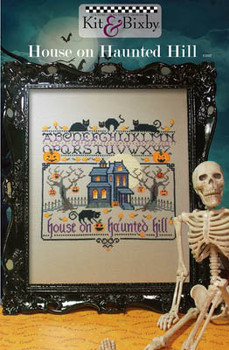 House On Haunted Hill 124w x 133h Kit & Bixby 17-2004