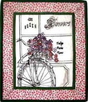 12-1237 Flower Shop 15 3/4 x 18 1/4 More The Merrier Designs