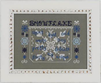 Snowflake 117w x 82h Misty Hill Studio 18-1136
