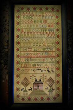 1831 Brick House 118w x 243h Tree Of Life Samplings 18-2458