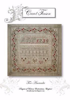 For Amanda With Silk Pack Heirloom Embroideries HE-FA