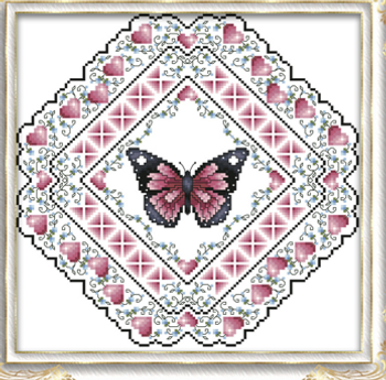 Cross Stitch Patterns By Designer - Kitty And Me Designs