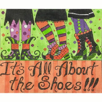 AP3762 Alice Peterson Designs ALL ABOUT THE SHOES 13 Mesh 10 x 8.25