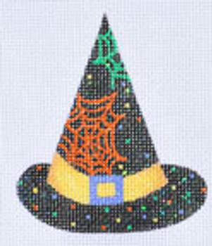 LD-21 Cob Webs Hat 3 x 3 ½ 18 Mesh With Stitch Guide LAINEY DANIELS