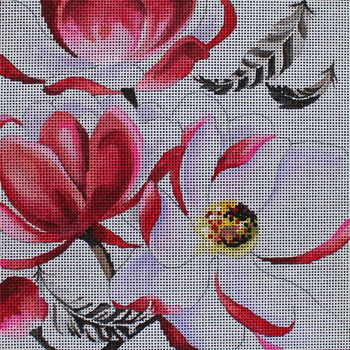 FF320 Flowers with feathers 9x9 13M Colors of Praise