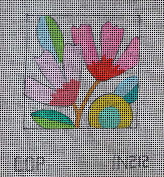 IN212 pink whimsical florals  3x3 18M Colors of Praise