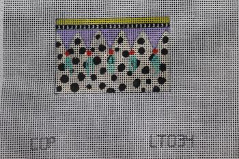 LT034 polka dots w tassels 2x3 18 Mesh Colors of Praise
