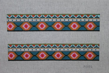 PB105 Southwestern pattern 2 panels 14x2.5 13 Mesh Colors of Praise