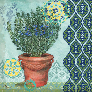 PB15674 - Garden to Table II 12x12, 18M  Paul Brent The Collection Designs