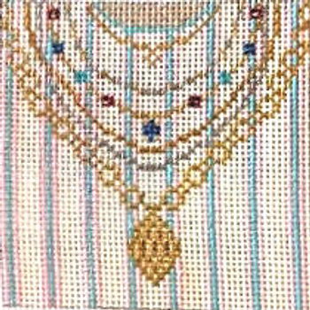 "#396-3Jewels & Gems 18 Mesh - 3"" Square Needle Crossings"