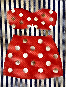XO-320Red & Polka Dot Vintage Swim Suit5 x 4 ish 18 Mesh  The Point Of It All