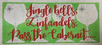 APCH15 Jingle Bells, Zinfandels, Pass the Cabelet 18emtesh 9.5 x 4 A Poore Girl Paints