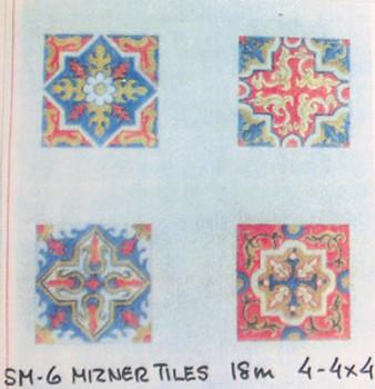 SM-6 Mizner Tiles 18 Mesh Anne Cram