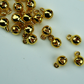 #MA-046 Golden Bells Metallic Accent Bead Sundance Designs