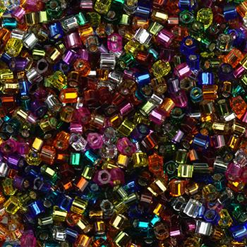 #BDS-HHB Size 11 House Blend Hex Beads Sundance Designs